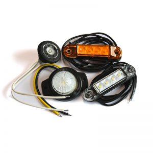 LED gabarito žibintai