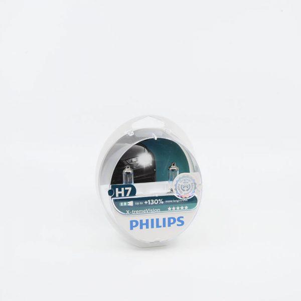 Lemputes h7 philips 130%
