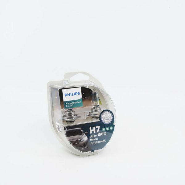 Lemputes h7 philips 150%
